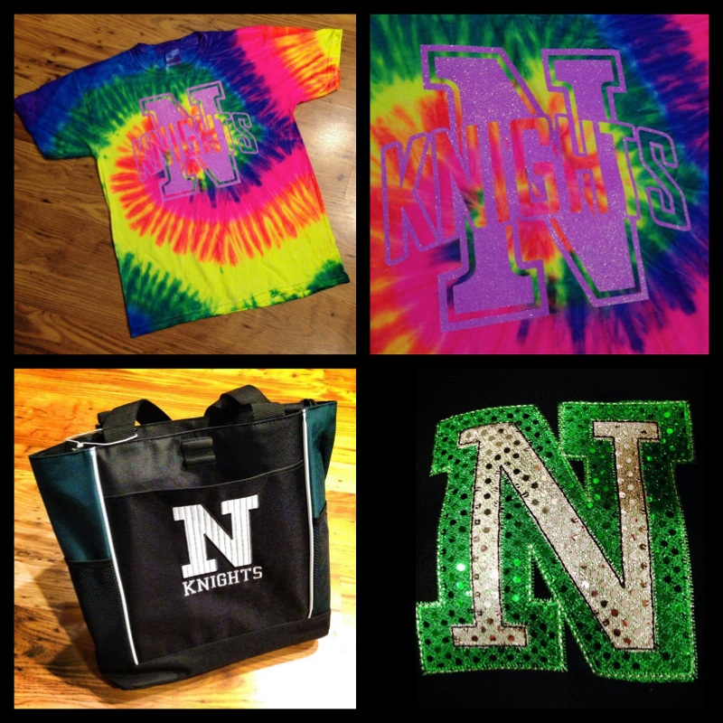 neon tie dye logo 2 tote and bling.jpg