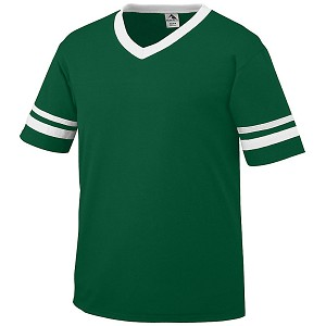 FOOTBALL Striped Sleeve Jersey