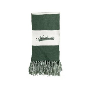 Nordonia Embroidered Knit Scarf