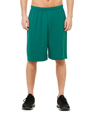 "Mesh Shorts with 9"" inseam"