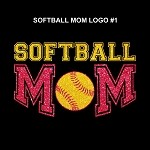 Softball Mom - Green/Pink